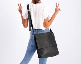 Messenger Bag, Laptop Bag, Women Leather Bag, School Bag, Leather Crossbody Bag, Shoulder Purse Bag, Satchel, Personalized Bag, College Bags