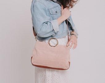 Suede Leather Bag, Small Leather Shoulder Bag, Small Crossbody Bag, Women Leather Handbag, Crossbody Leather Bag, Shoulder Bag, Evening Bag