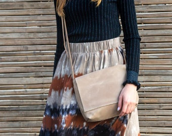 Leather Bag, Messenger Bag, Personalize Purse, Bag For Woman, Shoulder Bag, Crossbody Bag, Handbag Woman, Satchel, Leather Crossbody Purse