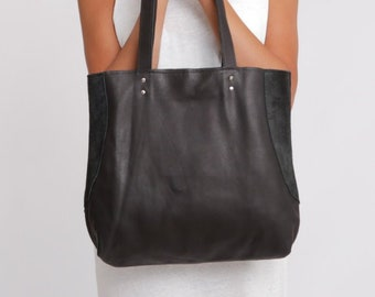 8100c19622 Black Leather Bag