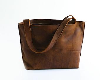 8a23b5684f Soft leather tote