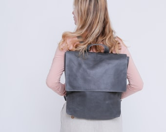 Leather Backpack Women, Diaper Bag, Laptop Backpack, Messenger Backpack, Laptop Bag, Messenger Bag, Backpack Diaper Bag Personalized, MAYKO