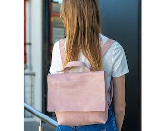 Leather Backpack, Leather Bag Women, Backpack Purse, Small Leather Bag, Leather Backpack Women, Rucksack Backpack, Messenger Bag Woman MAYKO