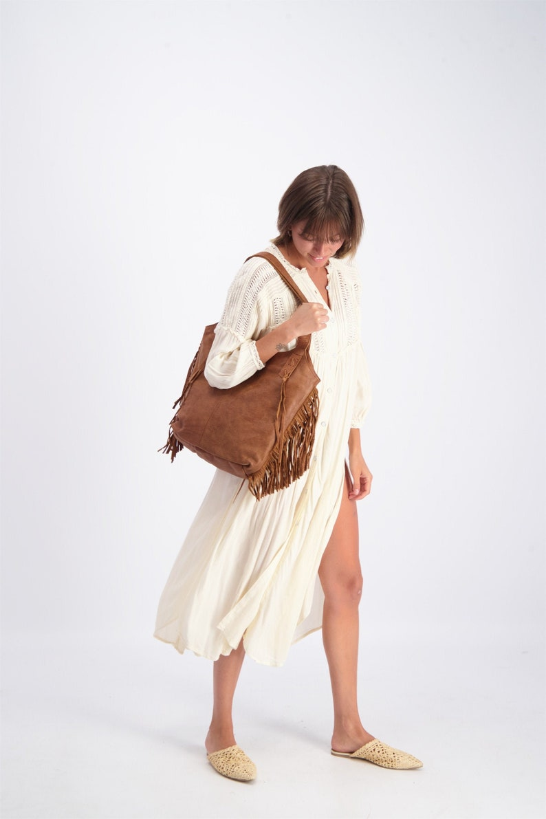Brown Leather Bag Large Leather Tote Leather Tote Bag Brown