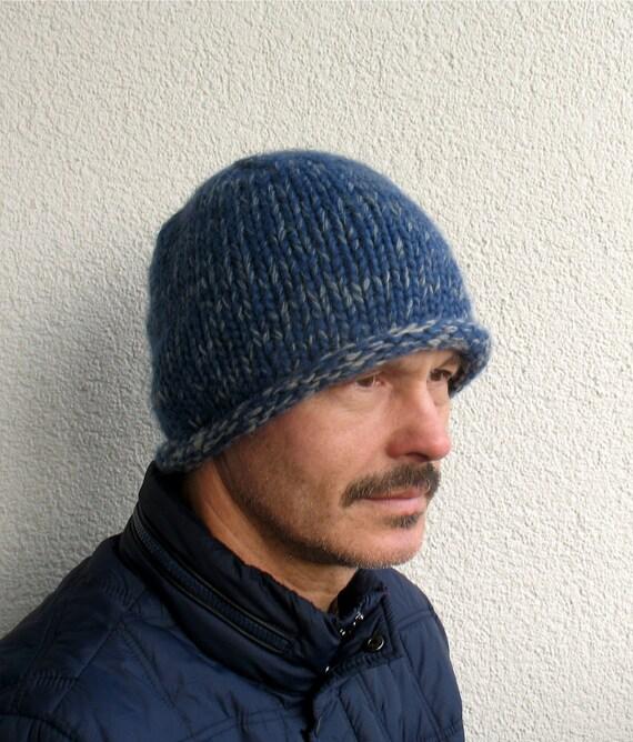 fe8c43f1604 Mens winter hat 100% natural icelandic and sheep wool cap ECO