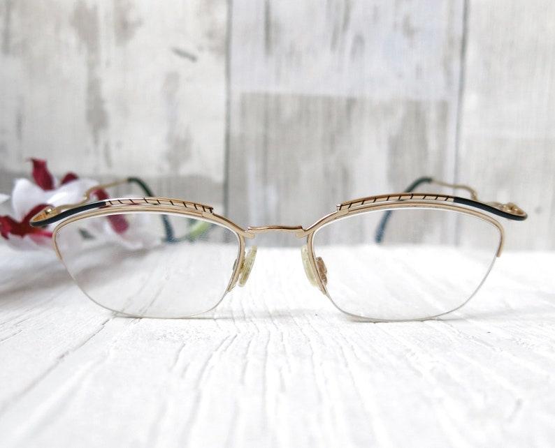 cbeae8bac18b Cazal glasses mod. 114 exclusive half-brand glasses | Etsy