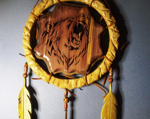 Roaring Bear Dream Catcher