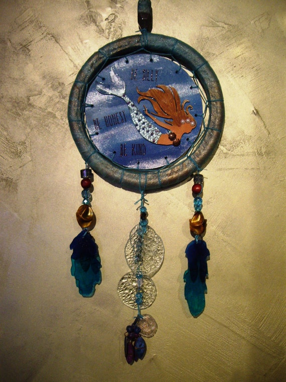 Diving Mermaid Dream Catcher