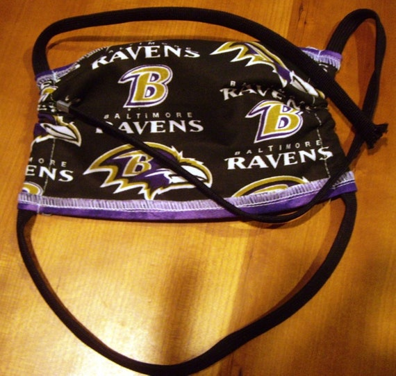 Ravens Adjustable Face Masks one size fits most Free Shipping