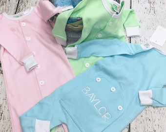 Easter PJs, Toddler pajamas, Spring pjs, Drop seat pjs, Trap door pjs, 1 piece pjs, Drop seat pjs, pastel pjs