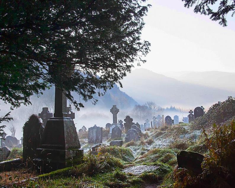 Ireland Photography,Irish Tombstones,Glendalough Cemetery,Wicklow Mountains National Park,Heritage Ireland
