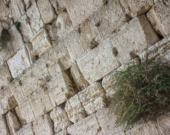 The Western Wall, Israel Photography, Western Wall Blocks, The Old City, Inspirational Wall Decor, Canvas Wraps or Prints
