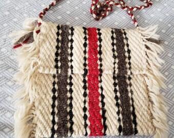 3053a2f970 Vintage Wool Bag
