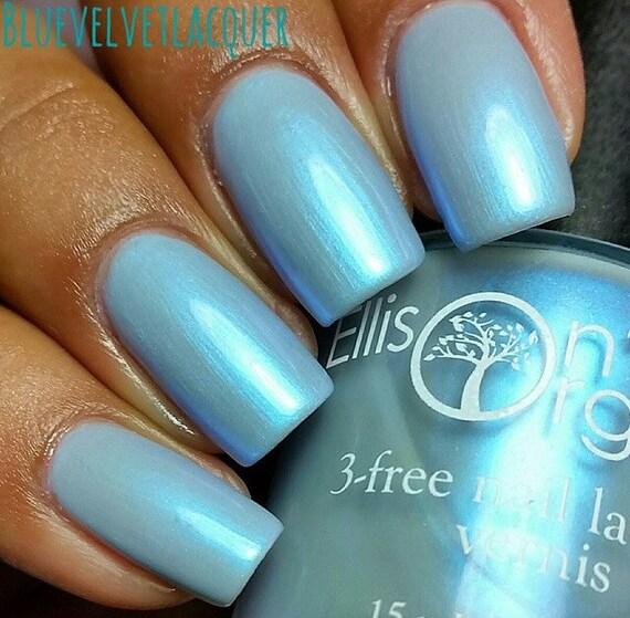 Blue Nail Polish Let it Go Light Blue Vegan Nail Polish | Etsy