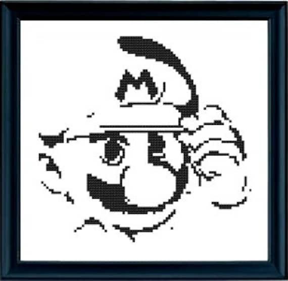 Patron Punto de Cruz PDF Mario Bros. / Nintendo | Etsy