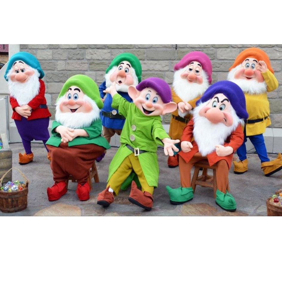 494b7334af4 Long Stocking Caps Elf 7 Dwarf Hats for Seven Dwarves Dress