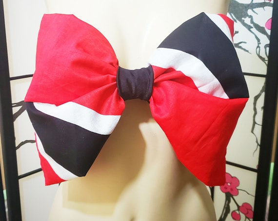 Custom Trinidad Flag Bandeau Bow Top *Other Countries Produced by Request