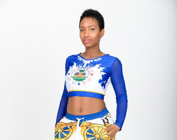 Haiti Mesh Crop Top (Top Only!)
