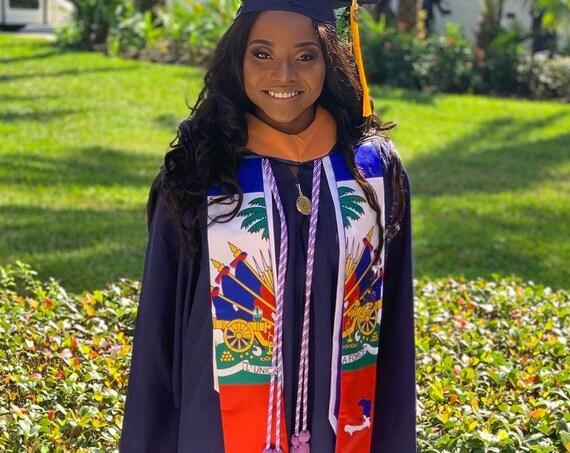 Haiti Graduation Stoles