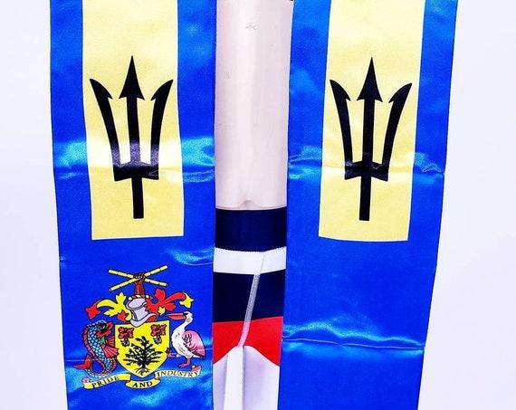 Barbados Graduation stoles/Sash