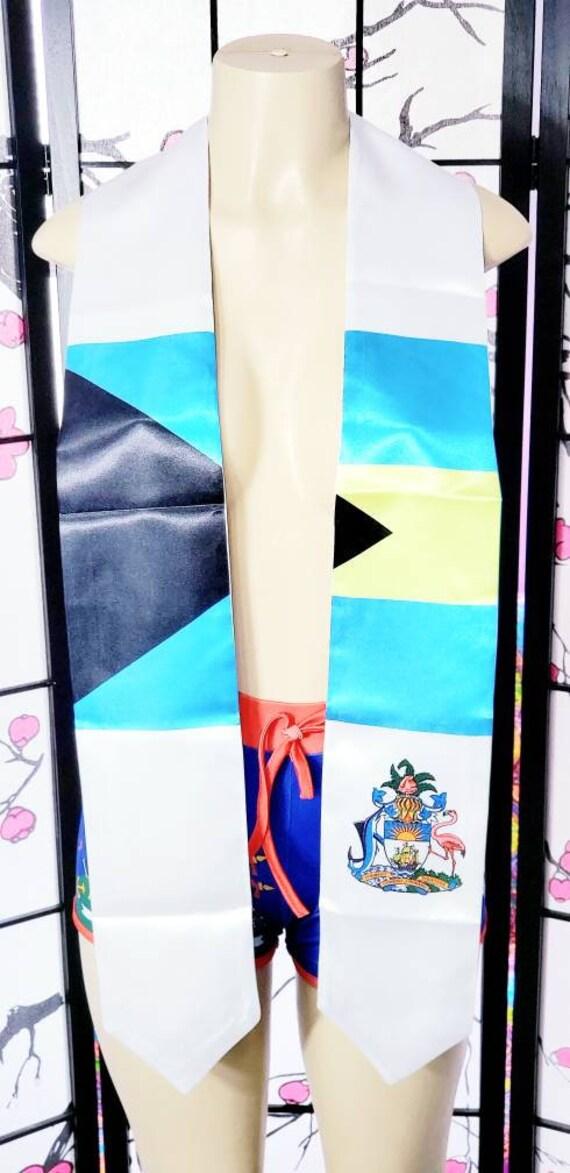 Bahamas Graduation Stoles