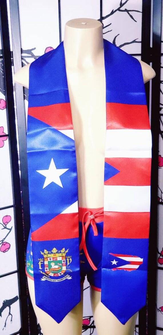 Puerto Rico Graduation stoles