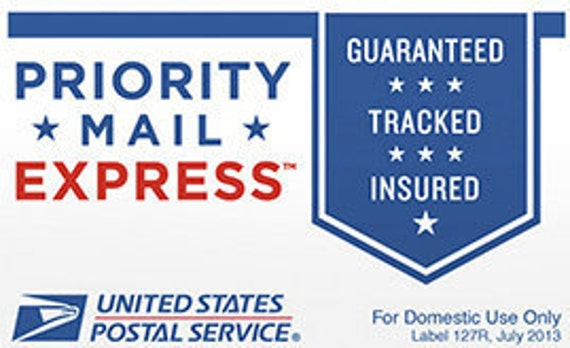 Priority Express Next Day Mail *Please contact us before purchase, applies to some orders
