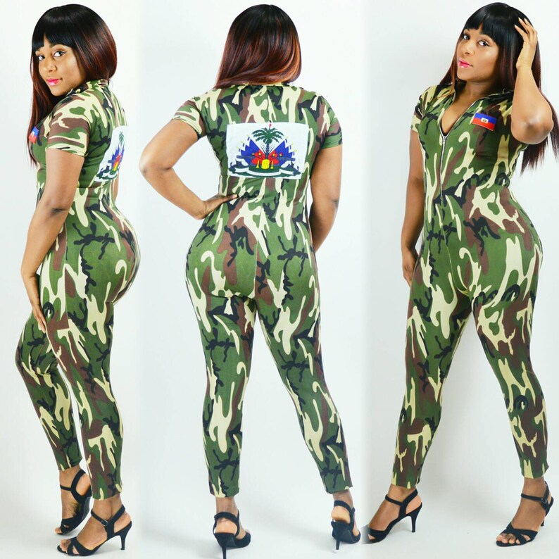 f52bb2ca1f71 Army Fatigue Jumpsuit Haiti Army Suit Other Countries Can be