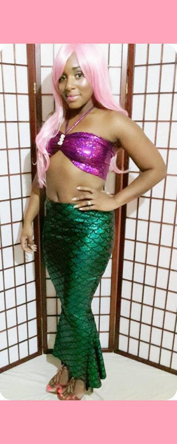 Skirt Only Mermaid Skirt Sea Princess Holloween Costume Fantasy