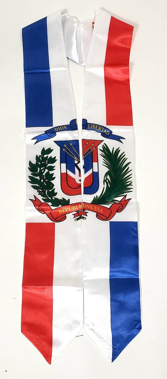 Republic Of Dominican graduation stoles sash