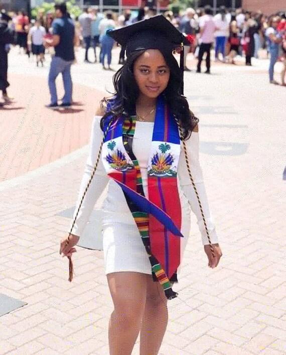 Haiti Graduation Stole