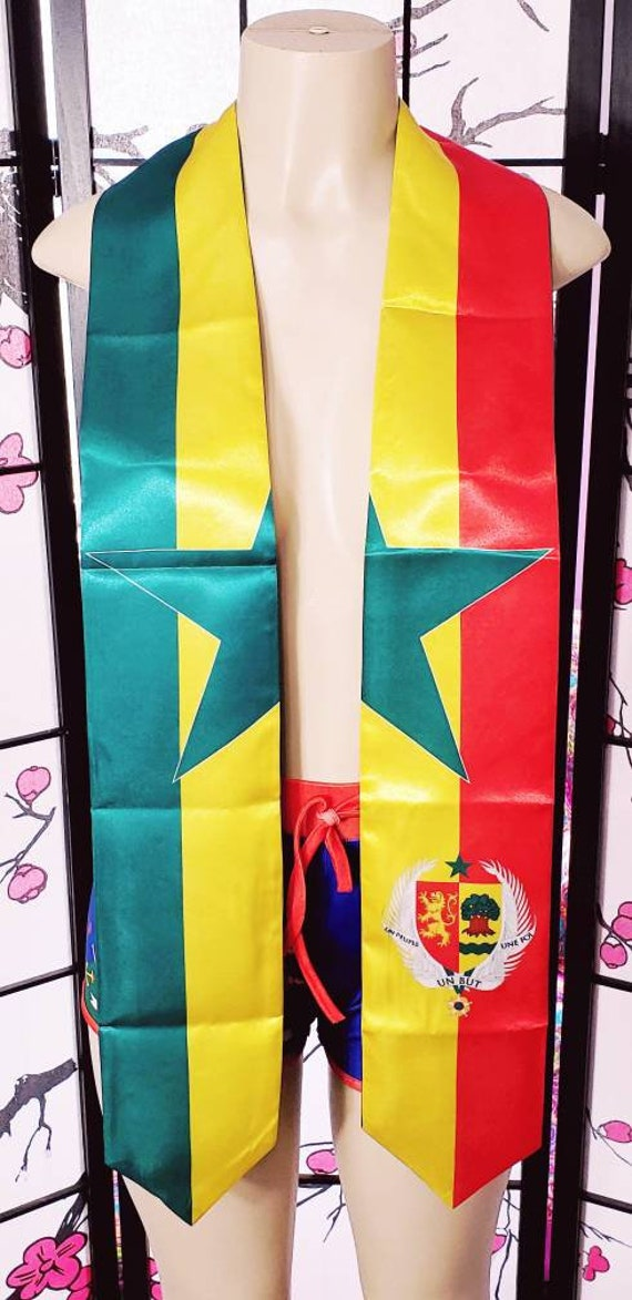 Senegal Graduation Stole