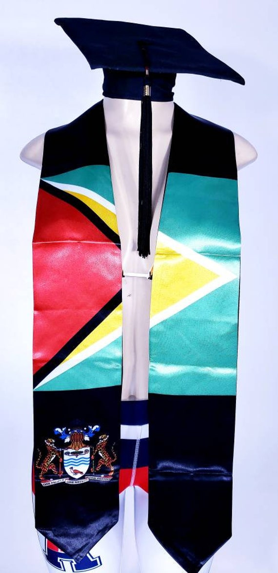 Guyana Graduation stoles sash