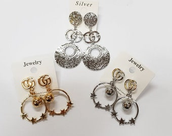 8c8bca82398 GG Earrings G earrings Circle earrings