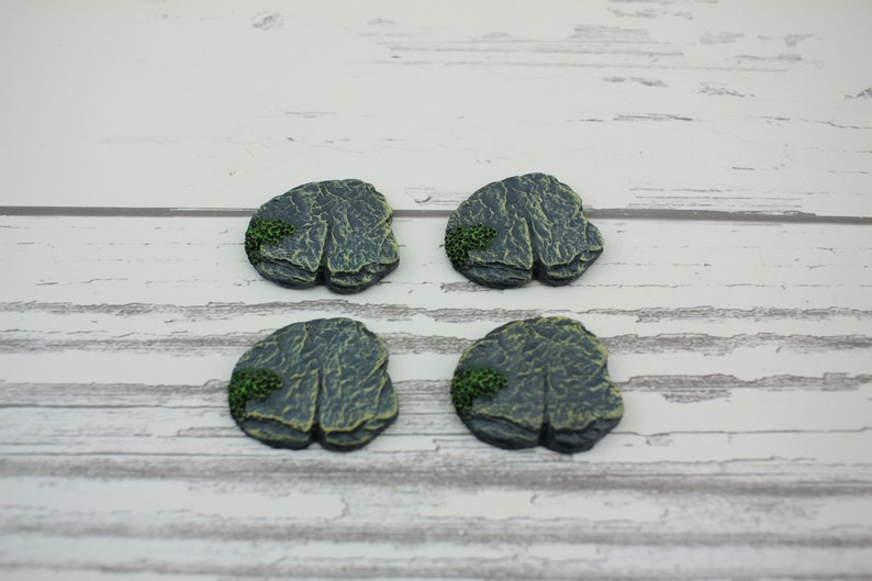 Fairy Garden Miniature Rock Stepping Stones Set of 4 image 0
