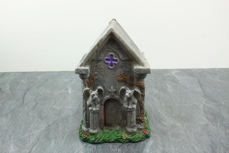 Fairy Garden Miniature Halloween Gargoyle House image 0