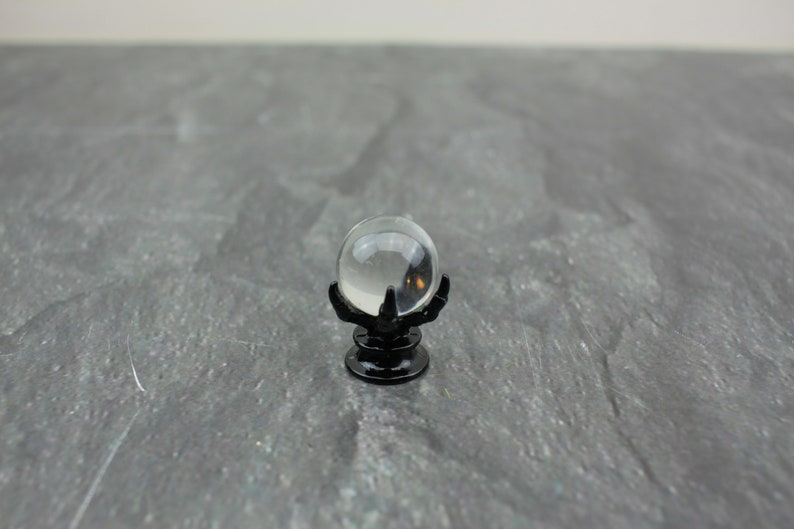 Fairy Garden Miniature Halloween Crystal Ball image 0
