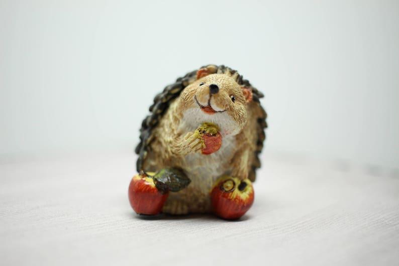Fairy Garden Miniature Hedgehog figurine assorted dish image 0