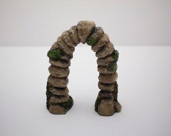 Fairy Garden Miniature Stone Archway