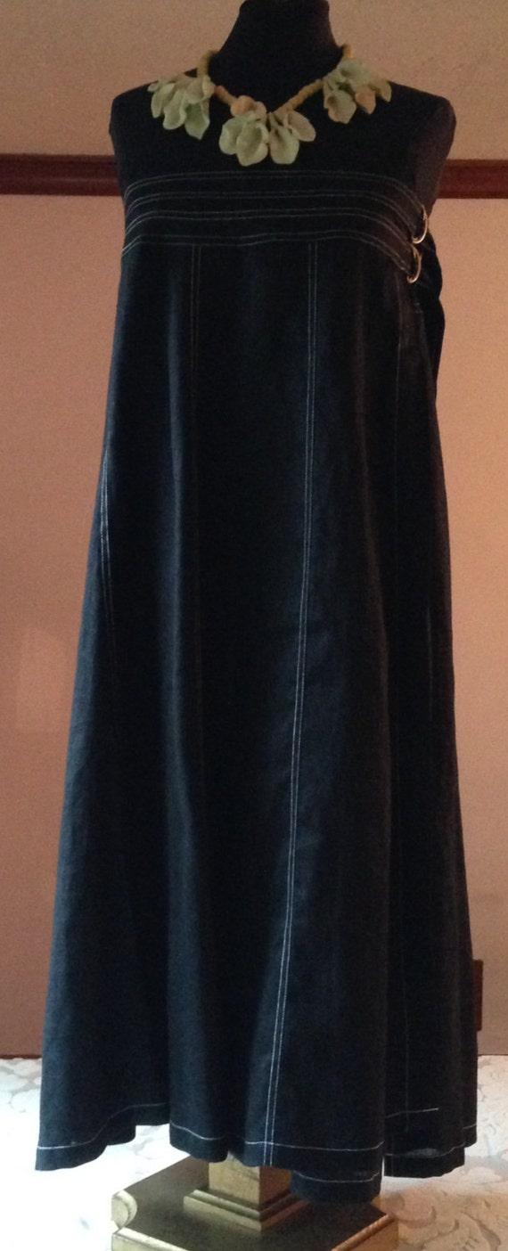 Carole Little Linen Skirt that Works as a Dress
