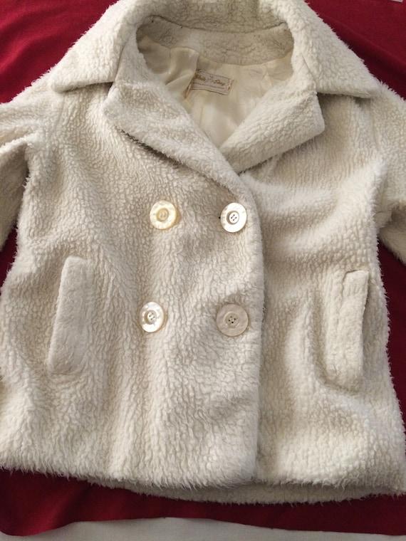 Vintage White Stag Coat