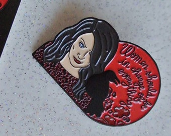 Feminist Pines tribute to Lilith and the Sabrina series gift ideal for fans of Michelle Gomez ideal gift for Christmas