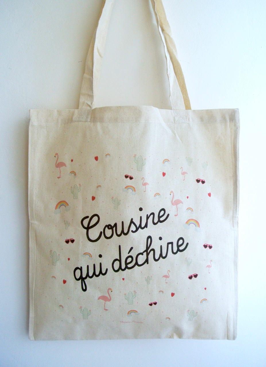 Einkaufstasche Vetter reißt Cousin Geschenk | Etsy