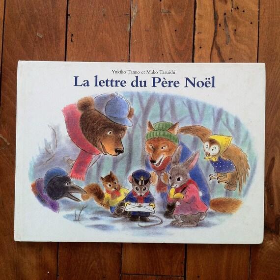 Une Lettre De Pere Noel.La Lettre Du Pere Noel Vintage Children Book