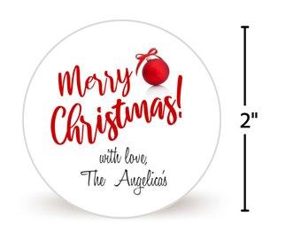 Christmas Gift Sticker Sheet of 20 | Christmas Gift Label | Christmas Gift tag | Personalized Christmas Gift Sticker