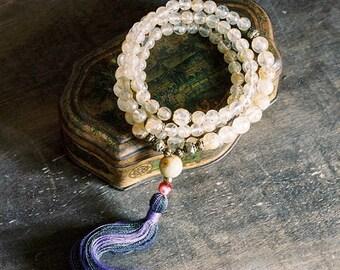 Mala beads, mala necklace, prayer beads, mala beads 108, mala, buddhist, buddhist necklace, japa mala, 108 mala beads, yoga jewelry, malas