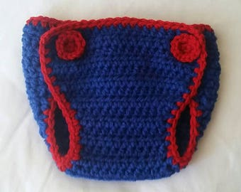 PATTERN ONLY* Crochet Diaper Cover