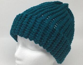 da2e6542c19 Teal winter hat