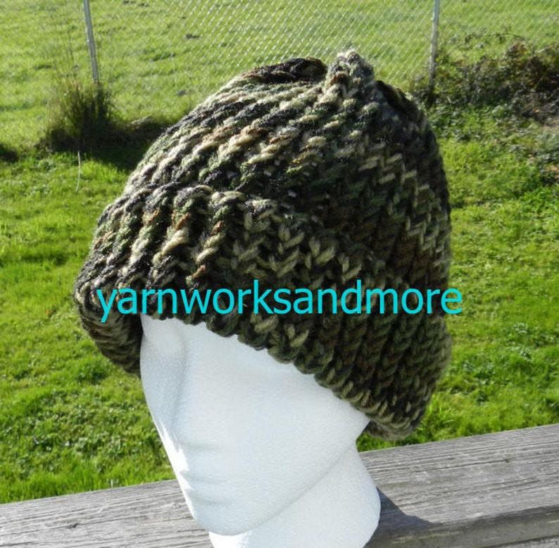 b5a59144477 Camo Beanie Camo Knit Hat Camo Winter Hat Warm Hat Knit