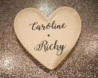 Customized Heart Ring Dish